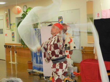 第75回介護予防健康講座「花吹雪一座の日本芸能百花繚乱!」開催