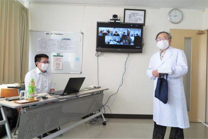 新型コロナワクチン接種体制研修会開催