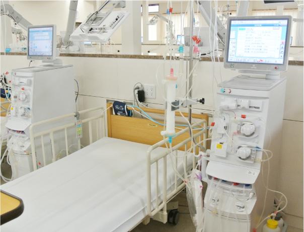 ふるさと透析診療所 透析室